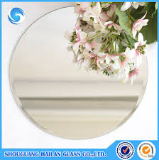 ya061 round bevel edge table mirror in 10 inch 12 inch enlarge image