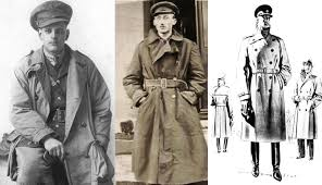 ww1 solrs wearing trench coats