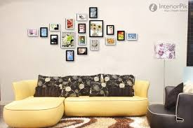 wall decoration ideas living room of fine living room wall