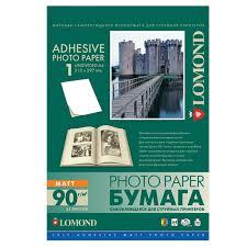Photo paper <b>inkjet self</b>-<b>ADHESIVE</b>, A4, 90 g/m2, 25 sheets, matte ...