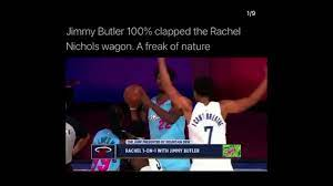 Proof of Jimmy Butler sleeping with ...