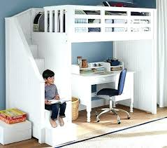 bed with office underneath. Bunk Bed With Desk Underneath And Stairs Office Stair Loft Charcoal .