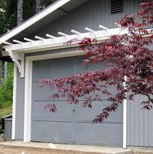 gallery of diy trellis over the garage door with pergola over garage