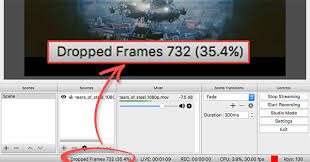 obs dropped frames fix