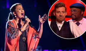 The Voice hopeful Irene Alano-Rhodes captures judges' hearts | Daily Mail  Online