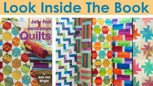 Look Inside Jelly Roll Jambalaya Quilts - YouTube &  Adamdwight.com