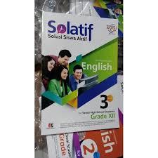Rangkuman materi bahasa indonesia kelas 7 bab 3 portal edukasi. Buku Solatif Bahasa Inggris Sma Kelas 12 Shopee Indonesia