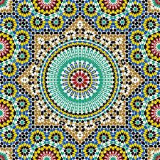 Moroccan Design Traditional Arabic Design Royalty Free Cliparts Vectors And