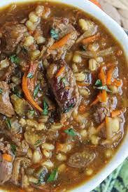 beef barley soup recipe slow cooker