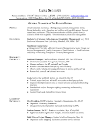 Cook Resume Examples Objective Line In For Teaching Position Sample