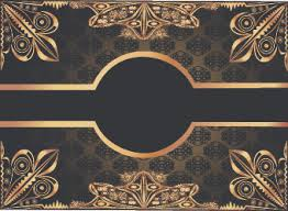 gold frame border vector. Simple Gold Luxurious Gold Frame Vector Set On Gold Frame Border Vector