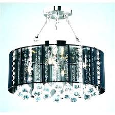 awesome crystal drum shade chandelier or white drum chandelier white drum shade crystal chandelier white drum