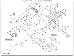 ryobi table saw switch wiring diagram ryobi image ryobi rts10 10 table saw parts and accessories partswarehouse on ryobi table saw switch wiring diagram