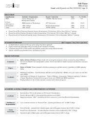 Linux Fresher Resume Format Fresher Resumes Resume Objective For Simple Linux Fresher Resume Format
