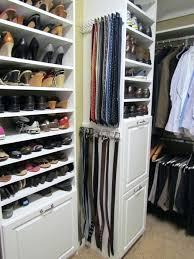 closet tie rack organizers awesome great idea for belts scarfs etc matt s new job with regard to 5