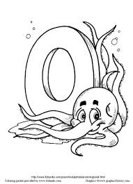snapshot image of one page from the pre alphabet coloring book