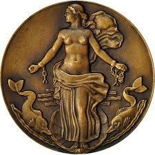 553374 Frankreich Medaille Compagnie Générale