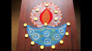 Easy Diya Rangoli Designs For Diwali Diya Rangoli Design For Diwali Innovative Rangoli Designs