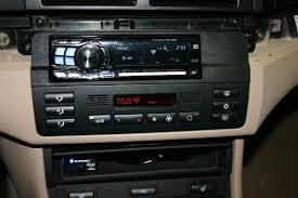 anyone have pics of aftermarket radio install e46fanatics