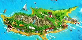În cipru se găsesc unele dintre cele mai vechi puțuri de apă din lume. Cipru Pe O Hartă A Europei Străine LocaÈ›ia Ciprului Pe Harta Lumii