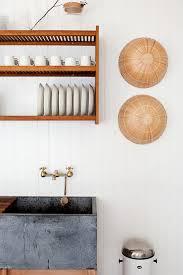 Kitchen: Stainless Steel Wall Mount Dishrack - Kitchen Racks