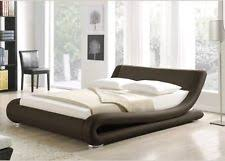 italian inexpensive contemporary furniture. modern cheap italian brown king 5ft bed faux leather free uk mainland delivery inexpensive contemporary furniture i