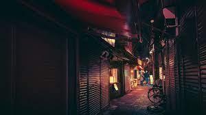 วอลเปเปอร์ : ถนน, กลางคืน, นีออน, จักรยาน, ตอนเย็น, ญี่ปุ่น, โตเกียว,  เที่ยงคืน, เบา, สี, ซอย, แสง, ความมืด 1920x1080 - CyberSickness - 77245 -  วอลเปเปอร์ hd - WallHere