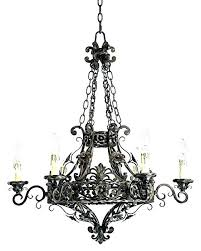 franklin iron works chandelier playful modern living
