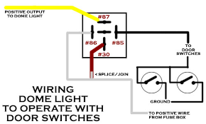 1954 chevy pickup wiring dome light via door switches wiring schematic for dome light to door switches