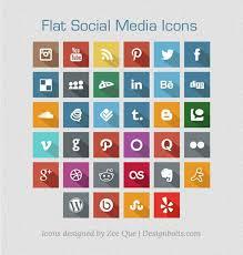 flat free social media icons 2013 social media graphics basic icons flat icons 1000