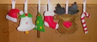 Christmas Craft With Children U2013 50 Craft Ideas For Christmas Christmas Felt Crafts