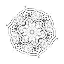 Free Mandala Coloring Pages To Print Christianvisionpnginfo