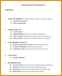 Formal Report Template Business Templates 548054698058 Formal