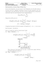 Bode Plot Notes Step By Step