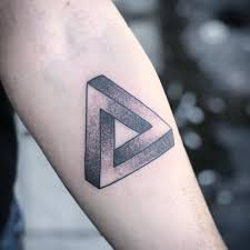 Penrose Triangle By Steve Clifford At Cherry Hill Tattoo Fl Tattoos