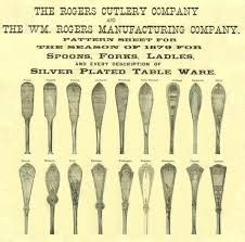 1847 Rogers Bros Silverware Patterns Enchanting Flatware Patterns Rogers Ambassador 48 Blunt Knives Stainless Silver