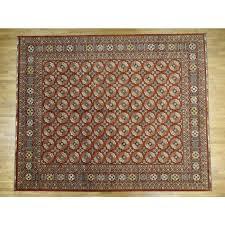13 5 x16 3 handmade elephant feet design afghan ersari oriental rug