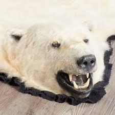 10 foot polar bear rug ep411263
