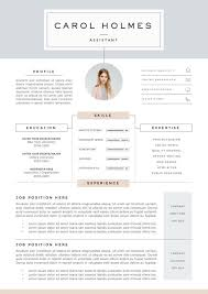 Resume Ideas Magnificent Resume Template 28page Milky Way By TheResumeBoutique On