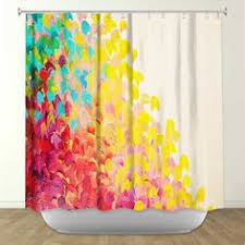 artistic shower curtains. Contemporary Shower CREATION IN COLOR Fine Art Painting Shower Curtain By EbiEmporium With Artistic Curtains C