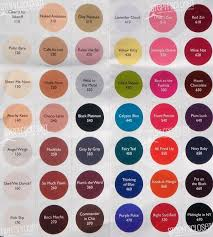 Sally Hansen Nail Color Chart Side Note Please Use The