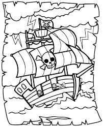 Coloriage Bateau Jack Et Les Pirates L