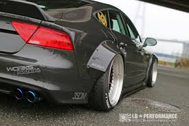 Audi A7 & S7 Get Steroid Shots From Liberty Walk
