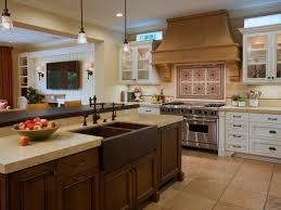 kitchen island ideas with sink. Simple Fruits Bowl Placed On Kitchen Island With Sink At Traditional Charming Backsplash Ideas L