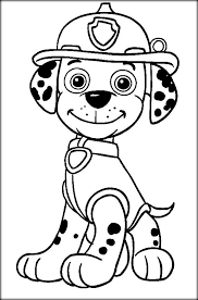 Paw Patrol Colouring Pages Paw Patrol Colouring Pages Pinterest