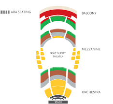Walt Disney Theater Orlando Seating Chart Wdt_seatingchart_mainstage Orlando Ballet