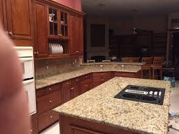 Santa Cecilia Granite Kitchen Santa Cecilia Granite Countertops Installation Kitchen Granite