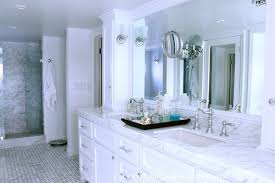 traditional marble bathrooms.  Traditional White Marble Countertops With Cabinets  Traditional Bathroom  Classic Casual Home On Bathrooms