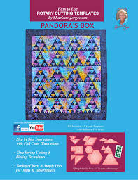 Pandora's Box | acrylic quilt template by Quilting from the Heartland & Pandora's Box Template Set · Pandora's Box Template ... Adamdwight.com