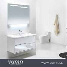 modern bathroom furniture cabinets. Vumn Design Modern Bathroom Vanity Waterproof Toilet Cabinet With Mirror, Wall-mounted Shower Furniture Cabinets Y